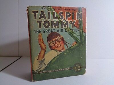 Tailspin Tommy 1184 (GVG) Whitman 1933 Big Little Book BLB Movie Scenes (c#12413