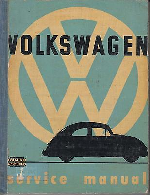 Vw Beetle 1100 & 1200 Incl Split Screen & Oval 1946 - 1957 Repair Manual