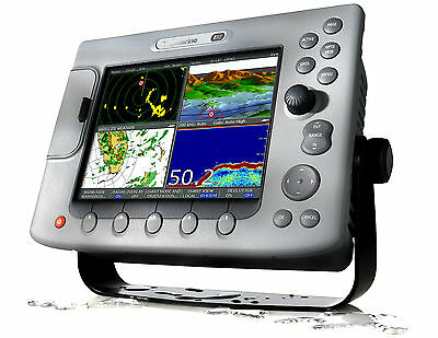 Raymarine E-80 Classic Mfd  Excellent Condition Manuals, Cables, Flush Mount