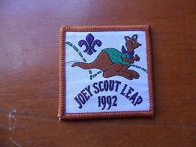 Joey Scout Leap 1992 Scout Cloth Badge
