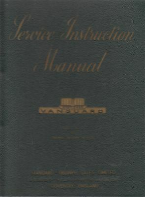 Triumph Renown 2000 Saloon (& Roadster 2000 Engine) '49- Factory Workshop Manual