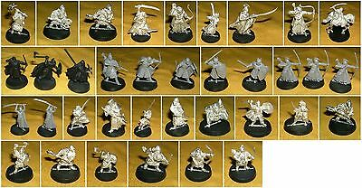 Games Workshop Zinnfigur Herr der Ringe Tabletop GW 2003 Zwerge Elben