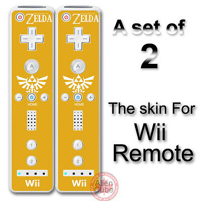 Legend of Zelda Classic Skins Decal skin Sticker Cover for Nintendo Wii Remote