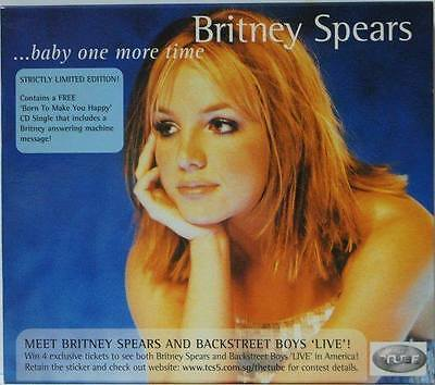 Britney Spears - Glory Rare Baby One More Time CD + Promo CD Single