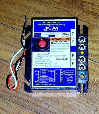 ICM1502 Intermittent Ignition Oil Primary Control---30 seconds (4 HR SHIPPING)