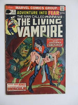 Adventures Into FEAR # 21 - Morbius! Horror Mystery MARVEL Check our comics