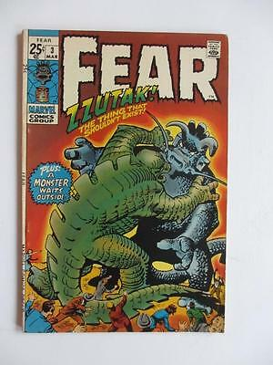 Adventures Into FEAR # 3 - HIGHER GRADE -  Horror Mystery Stories! MARVEL