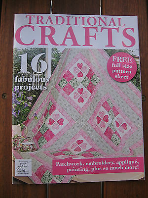 TRADITIONAL CRAFTS MAGAZINE VOL 2 No1 NEW