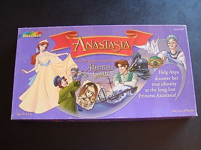 Vintage Anastasia (Film) Board Game 100% Complete Great Condition! Animated