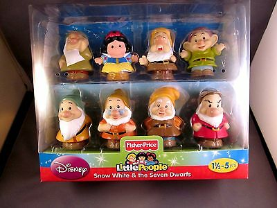 Fisher Price Little People Snow White And The Seven Dwarfs Disney