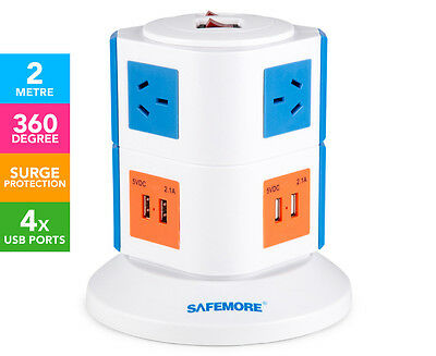 Safemore 2-Level Power Stackr - Blue/Orange