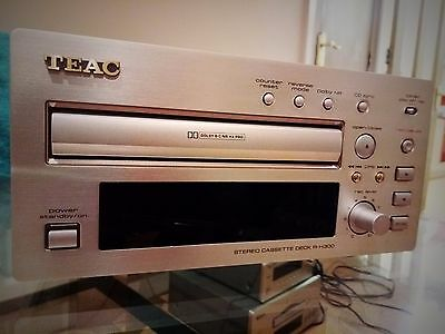 TEAC R-H300 Cassette Tape Deck @Player Reference Hifi seperate 300 champagne
