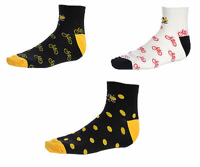 Official Le Tour De France Cycling Bike Socks Size M/xl New With Tags