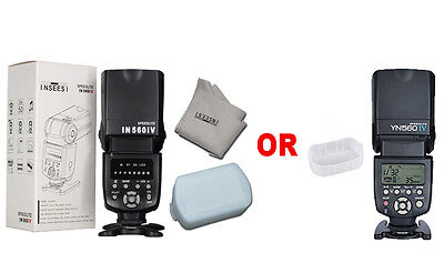INSEESI IN560 IV Flash speedlite Or YONGNUO YN560 IV flash speedlite for Canon