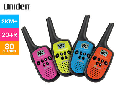 Uniden UH35-4 80-Channel Mini Compact Handheld Radios
