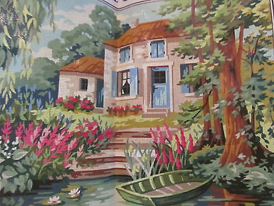 Royal Paris~In The Heart of the Marsh~Lake House~Needlepoint Canvas~New