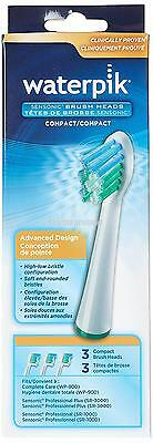 Waterpik Compact Replacement Advanced Brush Head Design for SR3000