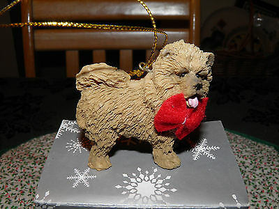 CHOW CHOW ORNAMENT, Resin, Hangs or stands free NIB, AKC Collection