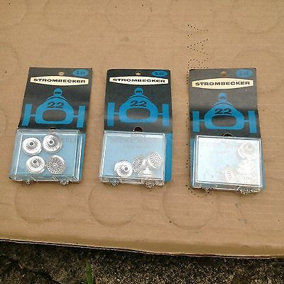 Vintage Three Piece Group Strombecker Spoke Wheels / New Old Store Stock!!!!!!!!