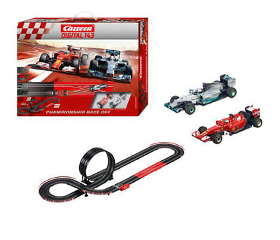 Carrera 40028 - Digital 143 Championship Race Off Racetrack Complete Set NIP