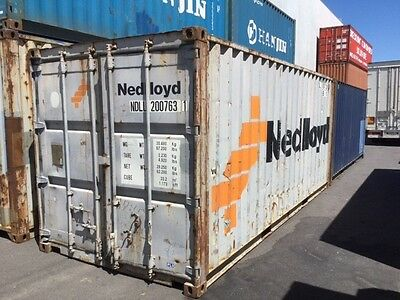 20ft Shipping Container. Water and Vermin Proof Delivery Available