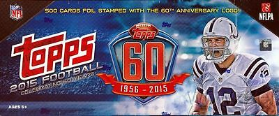 2015 Limited Release Topps Football 60th Anniversary Logo Team Set YOU PICK TEAM