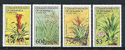 Dominica  1984 Ausipex Exhibition Flowers MNH