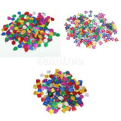Mixed Shiny Sparkle Confetti for Wedding Party Table Decoration