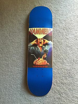 Hammers scanners SCREENED Jim Greco Skateboard Deck sold out rare