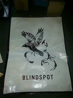 SDCC 2016 Blindspot Swag bag Backpack Exclusive Comic Con WB Tote + tattoos