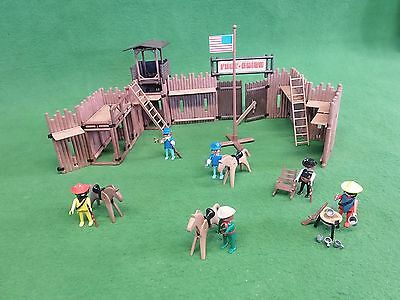 Playmobil Western Fort Union 3420 OVP Cowboy Indianer 3353 3342 3343 3344