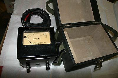 9175 Winslow-Teletronics Ohmmeter ZM-62 PSM-34 Untested Navy Department