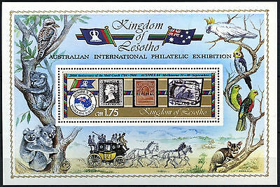 Lesotho 1984 Ausipex Exhibition MS MNH