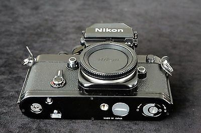 Vintage   Nikon F2As Black Body.  Pristine Condition. Classic Mechanical Slr