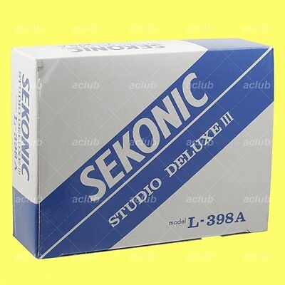 Genuine Sekonic L-398A Studio Deluxe III Analog Light Meter L398A L398 A