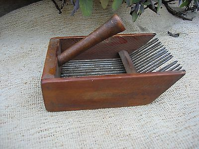 Old Unusual Vintage French Berry Picker  (1217)