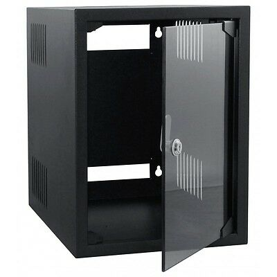 "8U Soho Mini 10"" Data Server Comms Av Office Rack Cabinet"