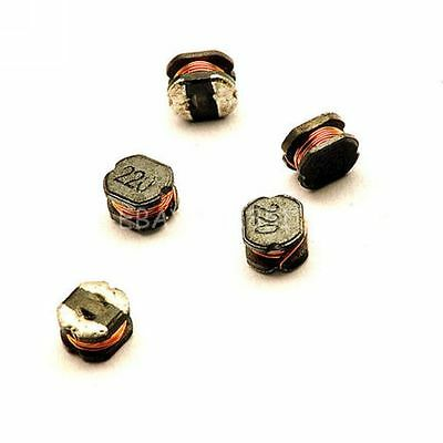 10PCS CD32 22uH 220 SMD Power Inductors 3mm×2mm