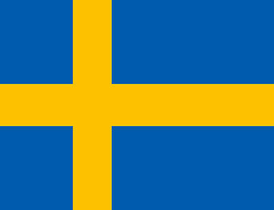 Swedish Flag Fridge Magnet - Flags