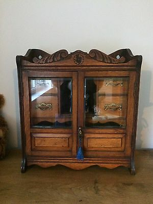 antique Smokers / Pipe Cabinet