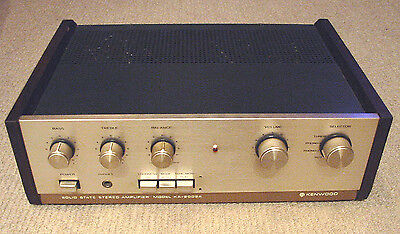 Vintage Kenwood KA-2002A Solid State Stereo Amplifier