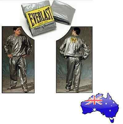 Everlast Sauna Suit - Sweat Suit for Exercise Gym Fitness Weight Loss