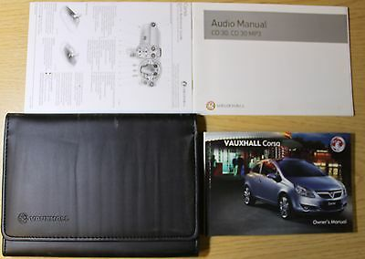 Vauxhall Corsa D Owners Manual Handbook Wallet 2006-2011 Pack