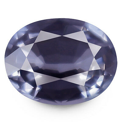 1.50ct EYE CLEAN NATURAL EARTH MINED AAA SILVER BLUE SPINEL TANZANIA REFER VIDEO
