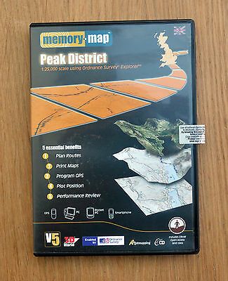 Memory Map - Explorer: Peak District CD-ROM (PC)