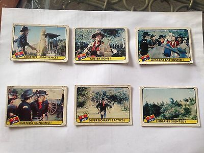 Custer cards x 6