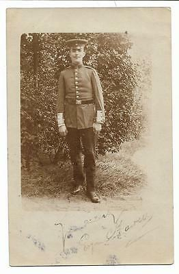 Named Soldier 1906 Postcard Military
