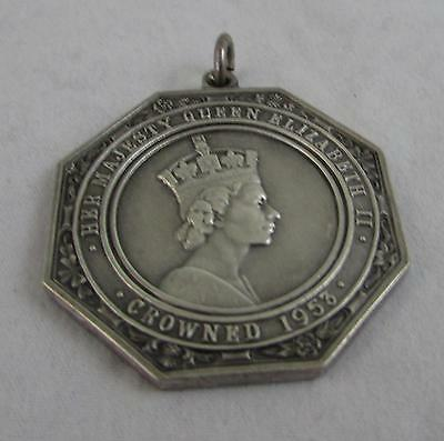 QE2 1950s British Medal Rewarded for Senior Champion in Long Jump