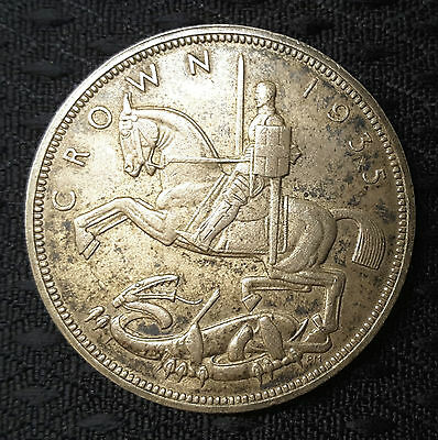 1935 George V 'Rocking Horse' Silver Jubilee Crown