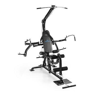 Multi Gym Home Excercise Machine Lat Pull Butterfly Cable Pulley Row Fitness
